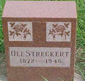 STRECKERT, OLE - Dixon County, Nebraska | OLE STRECKERT - Nebraska Gravestone Photos
