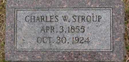 STROUP, CHARLES W. - Dixon County, Nebraska | CHARLES W. STROUP - Nebraska Gravestone Photos