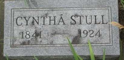 STULL, CYNTHA - Dixon County, Nebraska | CYNTHA STULL - Nebraska Gravestone Photos