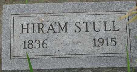 STULL, HIRAM - Dixon County, Nebraska | HIRAM STULL - Nebraska Gravestone Photos