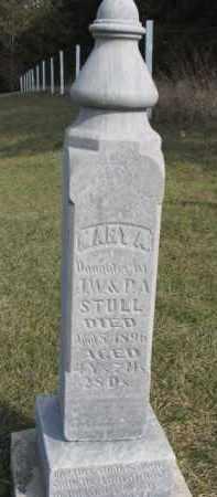 STULL, MARY A. - Dixon County, Nebraska   MARY A. STULL - Nebraska Gravestone Photos
