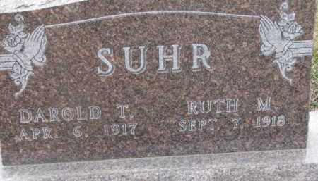 SUHR, RUTH W. - Dixon County, Nebraska | RUTH W. SUHR - Nebraska Gravestone Photos