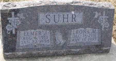 SUHR, ELMER J. - Dixon County, Nebraska   ELMER J. SUHR - Nebraska Gravestone Photos