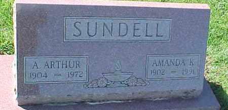SUNDELL, AMANDA K. - Dixon County, Nebraska | AMANDA K. SUNDELL - Nebraska Gravestone Photos