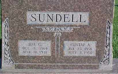 SUNDELL, IDA G. - Dixon County, Nebraska   IDA G. SUNDELL - Nebraska Gravestone Photos