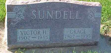 SUNDELL, GRACE - Dixon County, Nebraska | GRACE SUNDELL - Nebraska Gravestone Photos