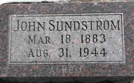 SUNDSTROM, JOHN - Dixon County, Nebraska | JOHN SUNDSTROM - Nebraska Gravestone Photos