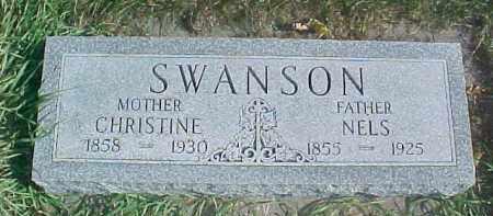 SWANSON, CHRISTINE - Dixon County, Nebraska | CHRISTINE SWANSON - Nebraska Gravestone Photos