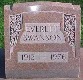 SWANSON, EVERETT - Dixon County, Nebraska | EVERETT SWANSON - Nebraska Gravestone Photos
