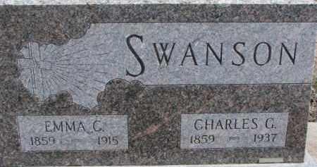 SWANSON, CHARLES G. - Dixon County, Nebraska | CHARLES G. SWANSON - Nebraska Gravestone Photos