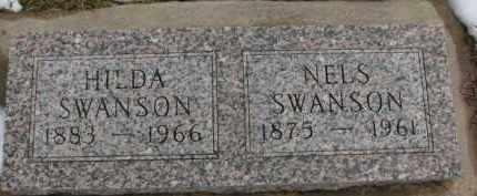 SWANSON, HILDA - Dixon County, Nebraska | HILDA SWANSON - Nebraska Gravestone Photos