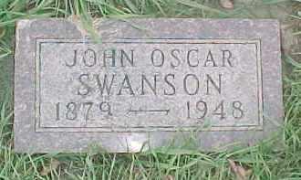 SWANSON, JOHN OSCAR - Dixon County, Nebraska | JOHN OSCAR SWANSON - Nebraska Gravestone Photos