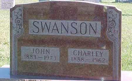 SWANSON, CHARLEY - Dixon County, Nebraska | CHARLEY SWANSON - Nebraska Gravestone Photos
