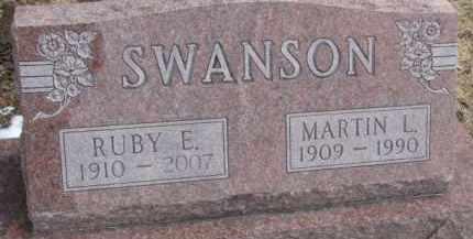 SWANSON, MARTIN L. - Dixon County, Nebraska | MARTIN L. SWANSON - Nebraska Gravestone Photos