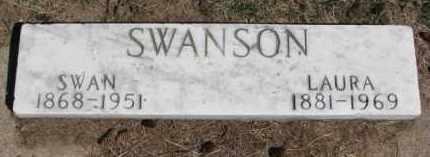 SWANSON, LAURA - Dixon County, Nebraska | LAURA SWANSON - Nebraska Gravestone Photos