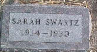 SWARTZ, SARAH - Dixon County, Nebraska | SARAH SWARTZ - Nebraska Gravestone Photos
