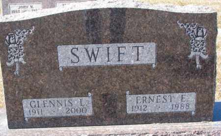 SWIFT, ERNEST E. - Dixon County, Nebraska | ERNEST E. SWIFT - Nebraska Gravestone Photos