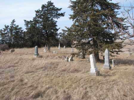 *TARA HILL, OVERVIEW - Dixon County, Nebraska | OVERVIEW *TARA HILL - Nebraska Gravestone Photos