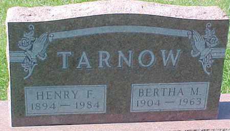 TARNOW, HENRY F. - Dixon County, Nebraska | HENRY F. TARNOW - Nebraska Gravestone Photos