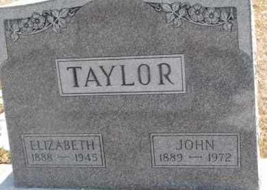 TAYLOR, ELIZABETH - Dixon County, Nebraska   ELIZABETH TAYLOR - Nebraska Gravestone Photos