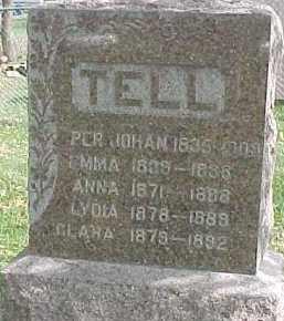 TELL, PER JOHAN - Dixon County, Nebraska | PER JOHAN TELL - Nebraska Gravestone Photos