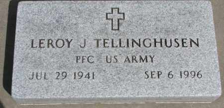 TELLINGHUSEN, LEROY J. - Dixon County, Nebraska | LEROY J. TELLINGHUSEN - Nebraska Gravestone Photos