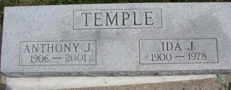 TEMPLE, IDA J. - Dixon County, Nebraska | IDA J. TEMPLE - Nebraska Gravestone Photos