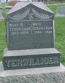 TERWILLIGER, MARY R. - Dixon County, Nebraska   MARY R. TERWILLIGER - Nebraska Gravestone Photos