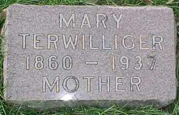 TERWILLIGER, MARY - Dixon County, Nebraska | MARY TERWILLIGER - Nebraska Gravestone Photos