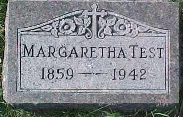 TEST, MARGARETHA - Dixon County, Nebraska | MARGARETHA TEST - Nebraska Gravestone Photos