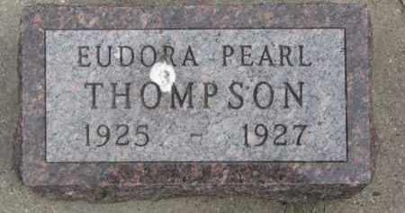 THOMPSON, EUDORA PEARL - Dixon County, Nebraska | EUDORA PEARL THOMPSON - Nebraska Gravestone Photos