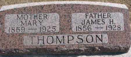 ROBSON THOMPSON, MARY - Dixon County, Nebraska   MARY ROBSON THOMPSON - Nebraska Gravestone Photos
