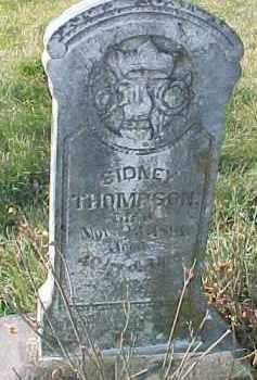 THOMPSON, SIDNEY - Dixon County, Nebraska | SIDNEY THOMPSON - Nebraska Gravestone Photos