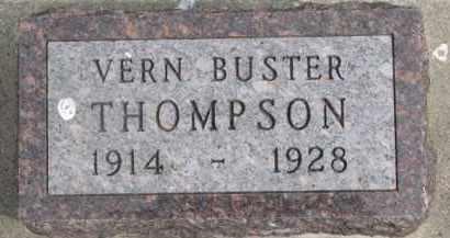 THOMPSON, VERN BUSTER - Dixon County, Nebraska | VERN BUSTER THOMPSON - Nebraska Gravestone Photos