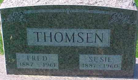 THOMSEN, SUSIE - Dixon County, Nebraska | SUSIE THOMSEN - Nebraska Gravestone Photos