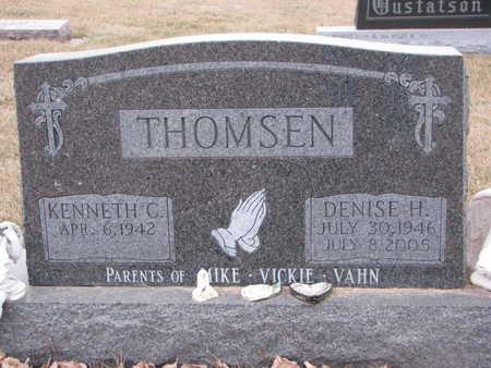 THOMSEN, KENNETH C. - Dixon County, Nebraska   KENNETH C. THOMSEN - Nebraska Gravestone Photos