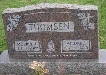 THOMSEN, MORRIS J. - Dixon County, Nebraska | MORRIS J. THOMSEN - Nebraska Gravestone Photos