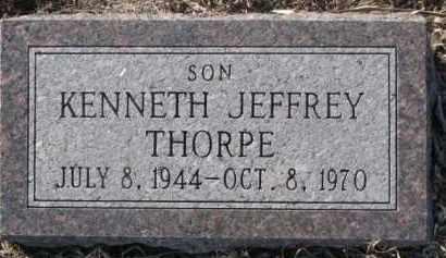 THORPE, KENNETH JEFFREY - Dixon County, Nebraska | KENNETH JEFFREY THORPE - Nebraska Gravestone Photos