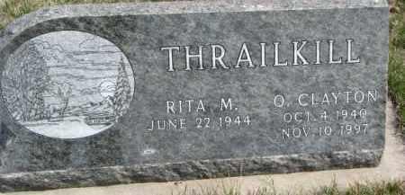 THRAILKILL, O. CLAYTON - Dixon County, Nebraska   O. CLAYTON THRAILKILL - Nebraska Gravestone Photos