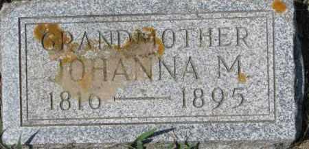 TIDEMANN, JOHANNA M. - Dixon County, Nebraska | JOHANNA M. TIDEMANN - Nebraska Gravestone Photos