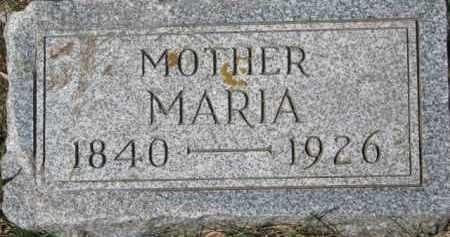 TIDEMANN, MARIA - Dixon County, Nebraska | MARIA TIDEMANN - Nebraska Gravestone Photos