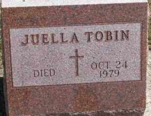 TOBIN, JUELLA - Dixon County, Nebraska | JUELLA TOBIN - Nebraska Gravestone Photos