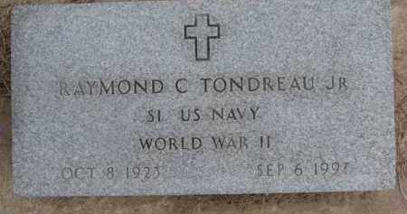 TONDREAU, RAYMOND C. JR. - Dixon County, Nebraska | RAYMOND C. JR. TONDREAU - Nebraska Gravestone Photos