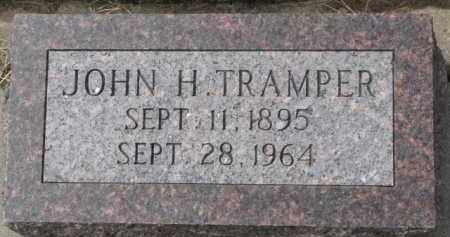 TRAMPER, JOHN H. - Dixon County, Nebraska | JOHN H. TRAMPER - Nebraska Gravestone Photos
