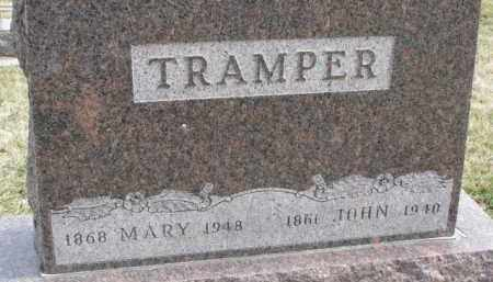 TRAMPER, MARY - Dixon County, Nebraska | MARY TRAMPER - Nebraska Gravestone Photos