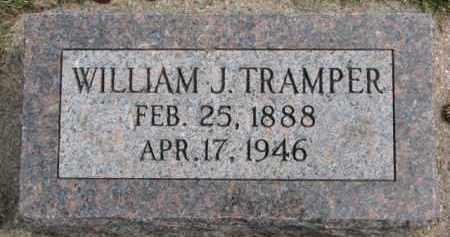 TRAMPER, WILLIAM J. - Dixon County, Nebraska | WILLIAM J. TRAMPER - Nebraska Gravestone Photos