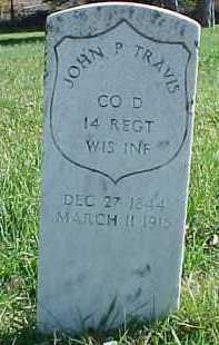 TRAVIS, JOHN P. - Dixon County, Nebraska | JOHN P. TRAVIS - Nebraska Gravestone Photos