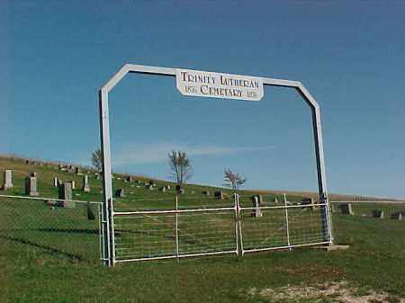 *TRINITY LUTHERAN, OVERVIEW - Dixon County, Nebraska | OVERVIEW *TRINITY LUTHERAN - Nebraska Gravestone Photos