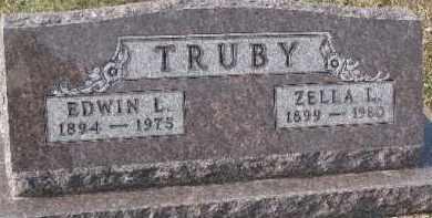 TRUBY, ZELLA L. - Dixon County, Nebraska | ZELLA L. TRUBY - Nebraska Gravestone Photos