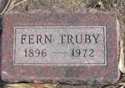 TRUBY, FERN - Dixon County, Nebraska   FERN TRUBY - Nebraska Gravestone Photos